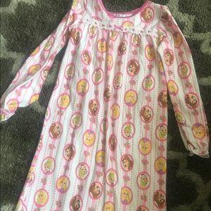 Girls 💐long sleeve Disney princess 👸 night gown